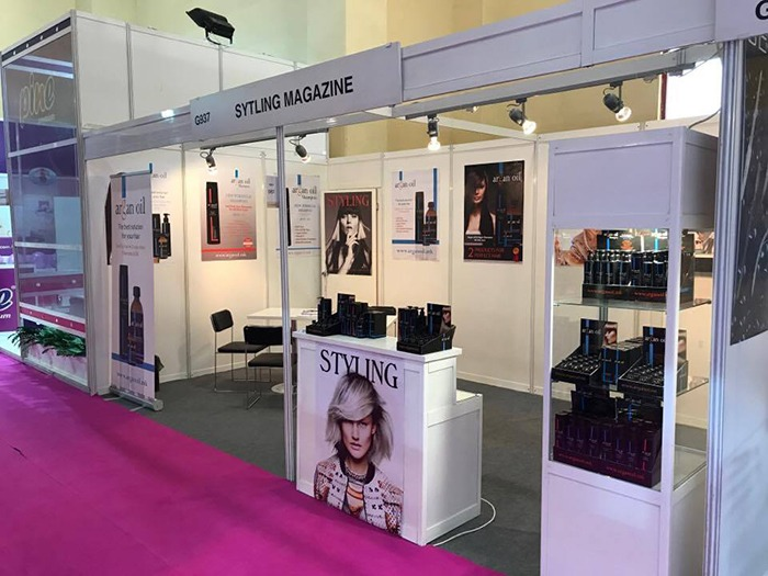 Styling Magazine at Beauty Eurasia Fair in Istanbul, 2017