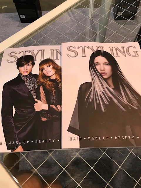 Styling Magazine at World of Beauty & Spa, Prague, 2017