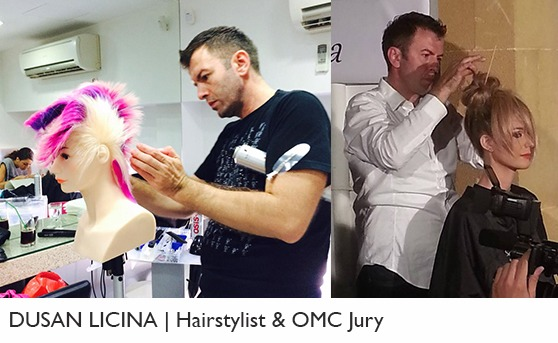 dusan licina professional hairdresser omc jury biography