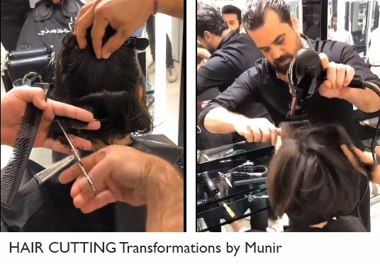 Video New Hair Cutting Transformations By Munir Styling Magazine